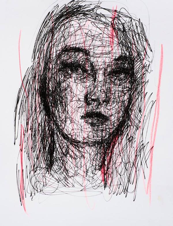Continous line Portrait by ChrisSilver