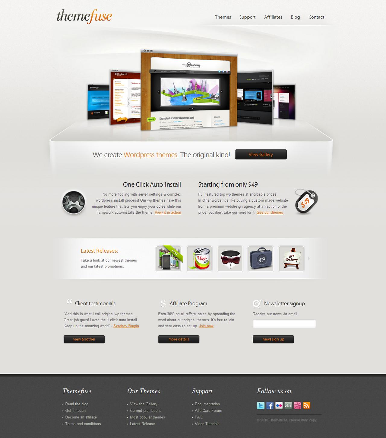 ThemeFuse - Original WP Themes by ThemeFuse