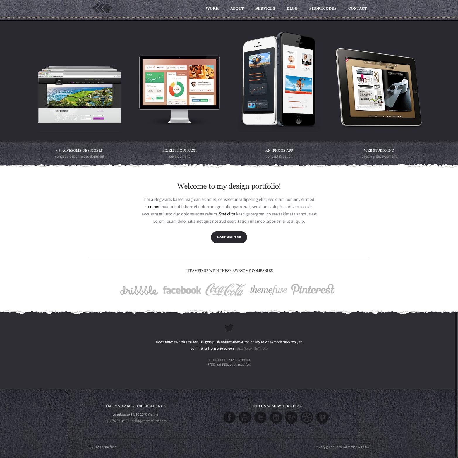 PixelWhiz WordPress Theme by ThemeFuse