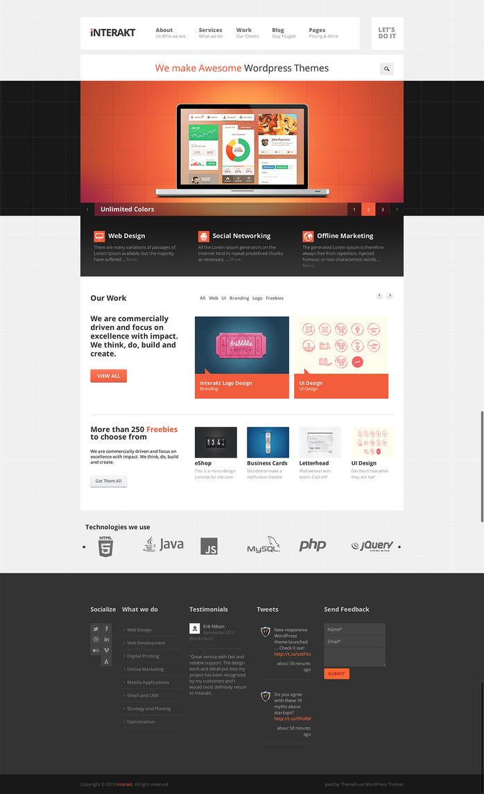 Interakt - Responsive WordPress Theme by ThemeFuse