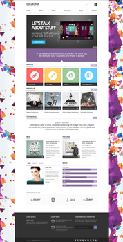 Collective   Professional WordPress Theme