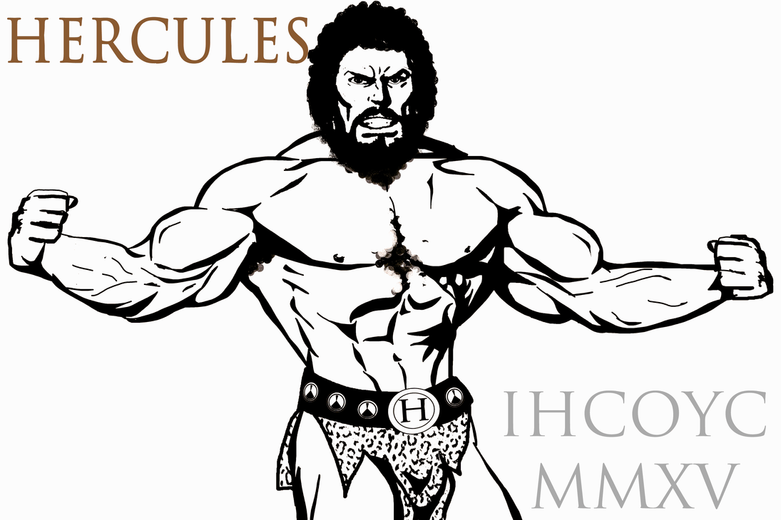 Quick sketch of Hercules by IHCOYC
