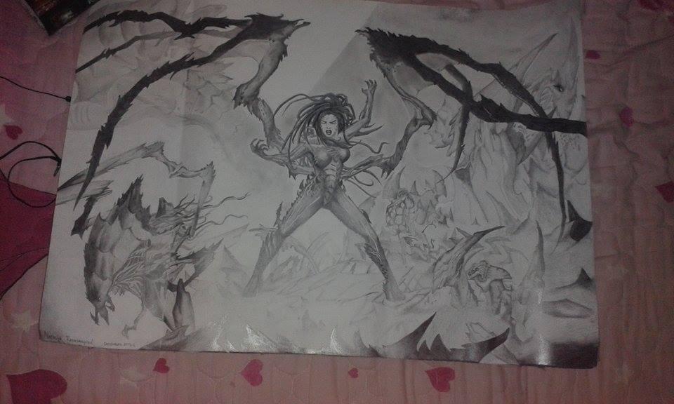 Zerg Kerrigan by Natasoko