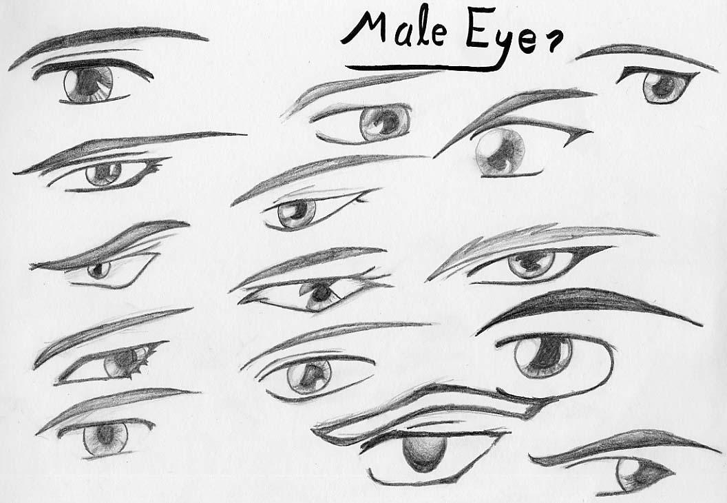 Male Eyes By Rob-u On DeviantArt