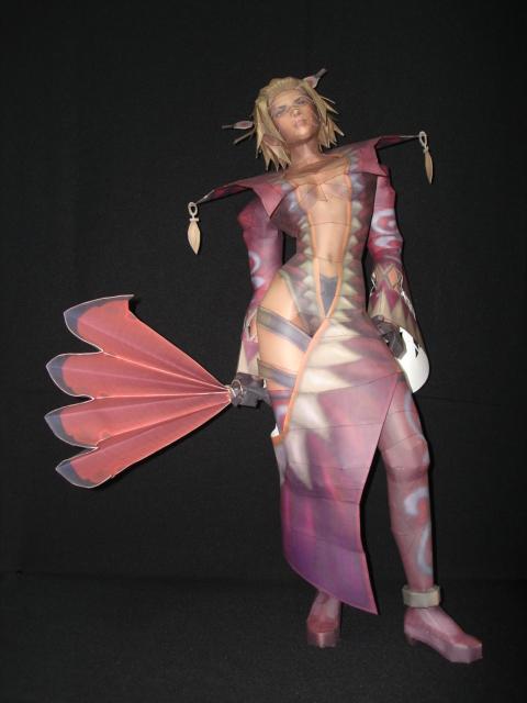 Final Fantasy X-2 LeBlanc by fezco