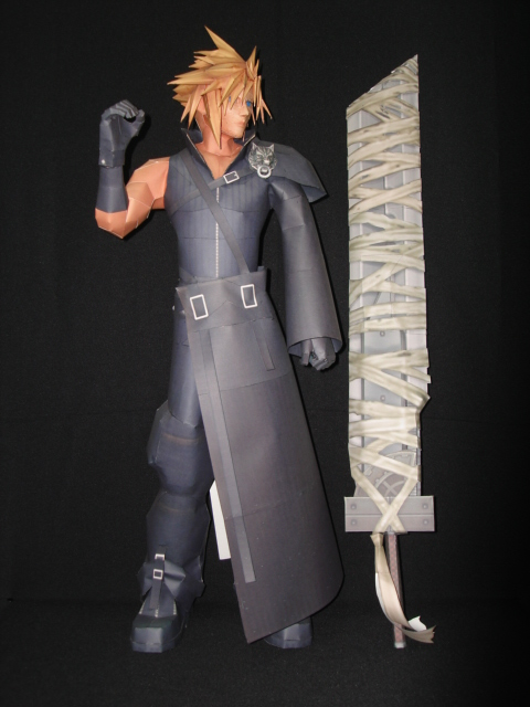 Advent Children Cloud Strife by fezco