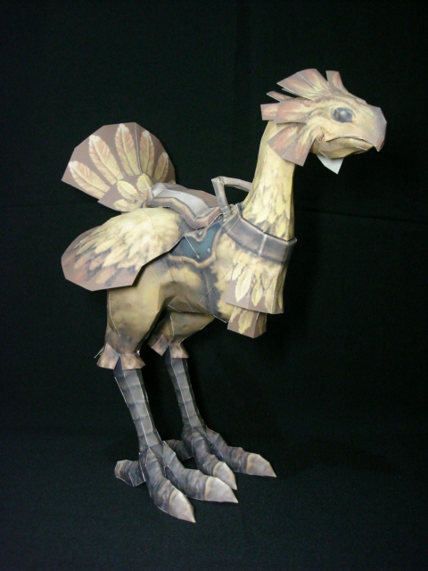 Final Fantasy X Chocobo by fezco