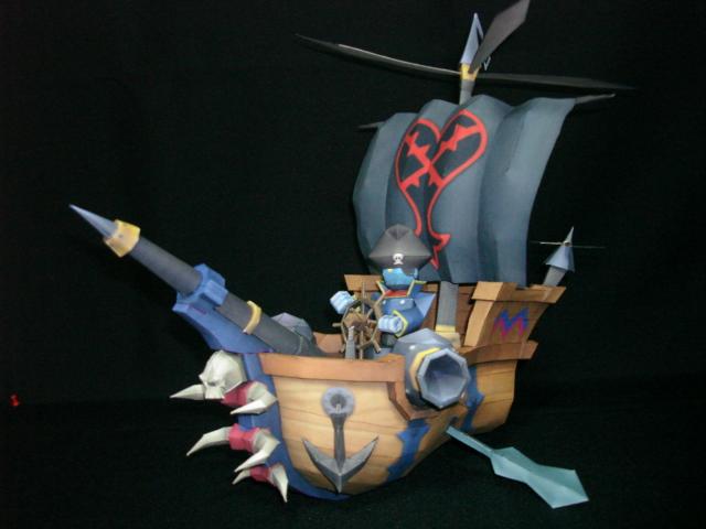 Kingdom Hearts: The Battleship by fezco
