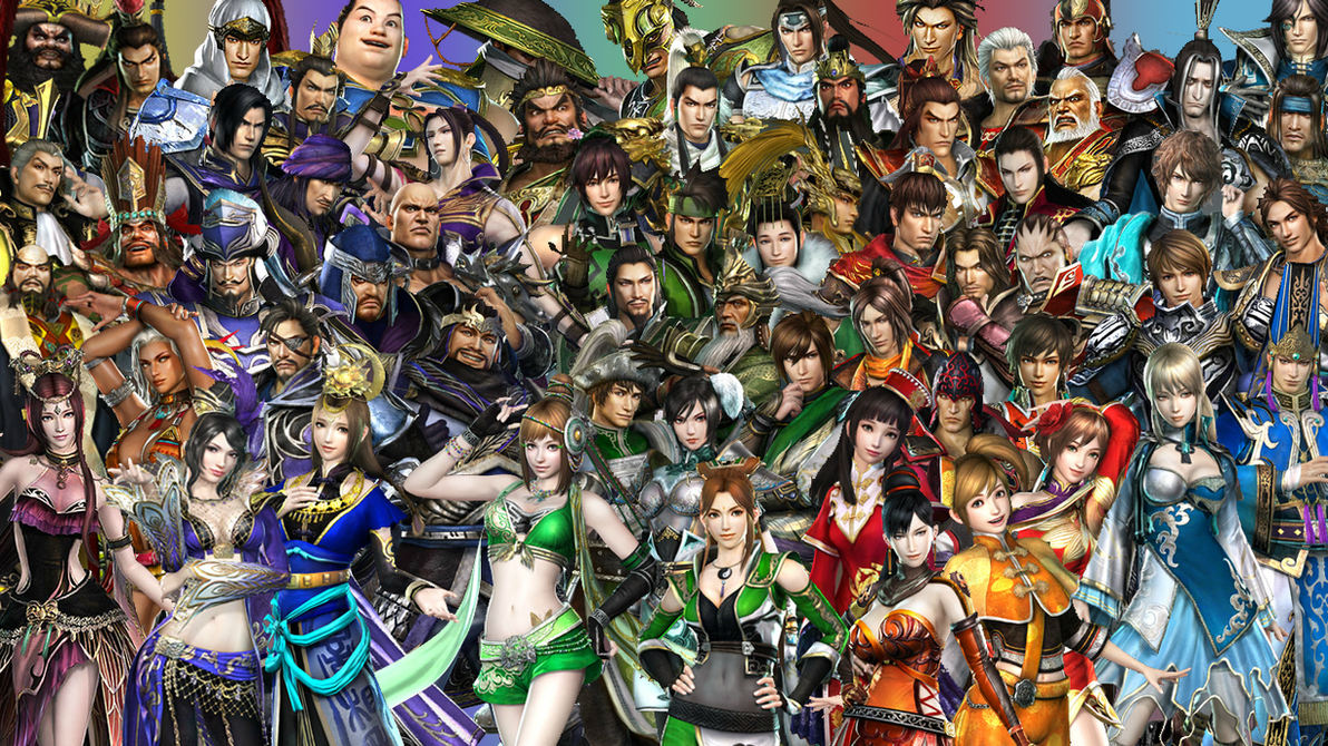 Dynasty Warriors 7 Wallpaper by MikeyTed on DeviantArt