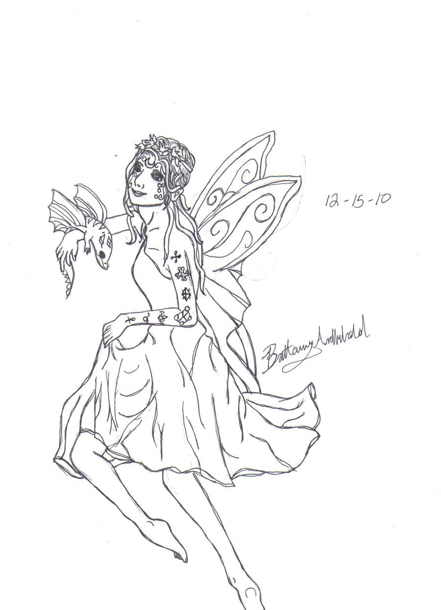 earth fairy coloring pages - photo#9