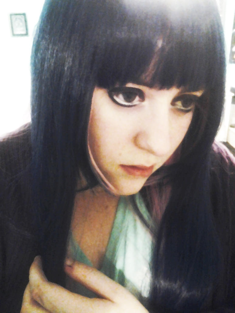 Stocking Makeup Test :D by Spiegeln