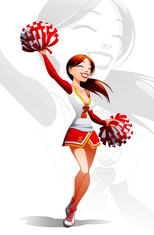 Cheerleader by javieralcalde