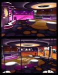 DSS Galaxy DanceClub 3D render