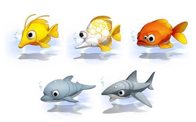 Planet51 Marine animals. by javieralcalde