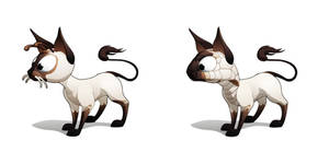 Planet51 Siamese Cat by javieralcalde