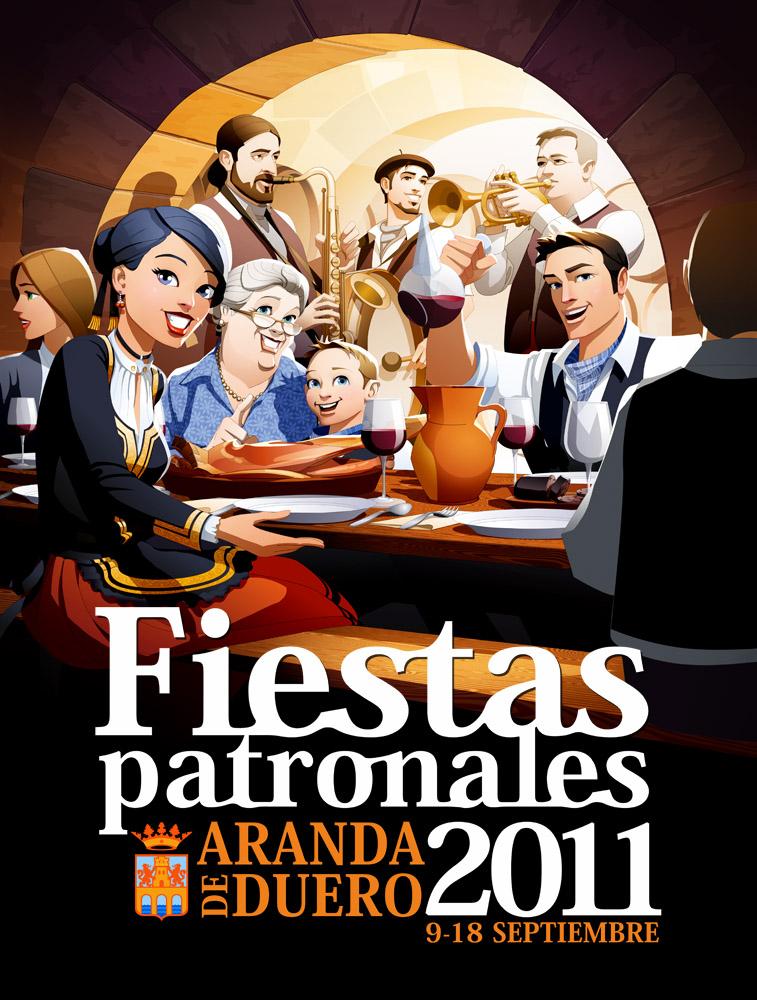Aranda de Duero Local Festival by javieralcalde