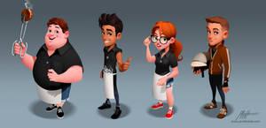 World Chef Characters