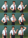 Character Jack expressions