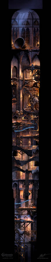 Bell pit. Castlevania