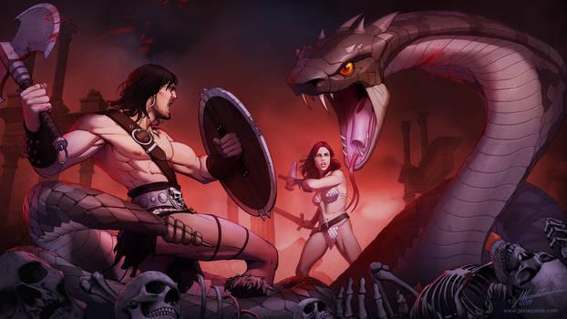 Conan Fan art
