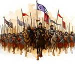 Arabian medieval army