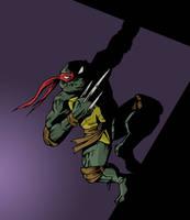 Raphael TMNT by sman118
