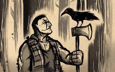 The Crow: Lumberjack by sman118