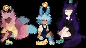 Fox Rabbit Wolf