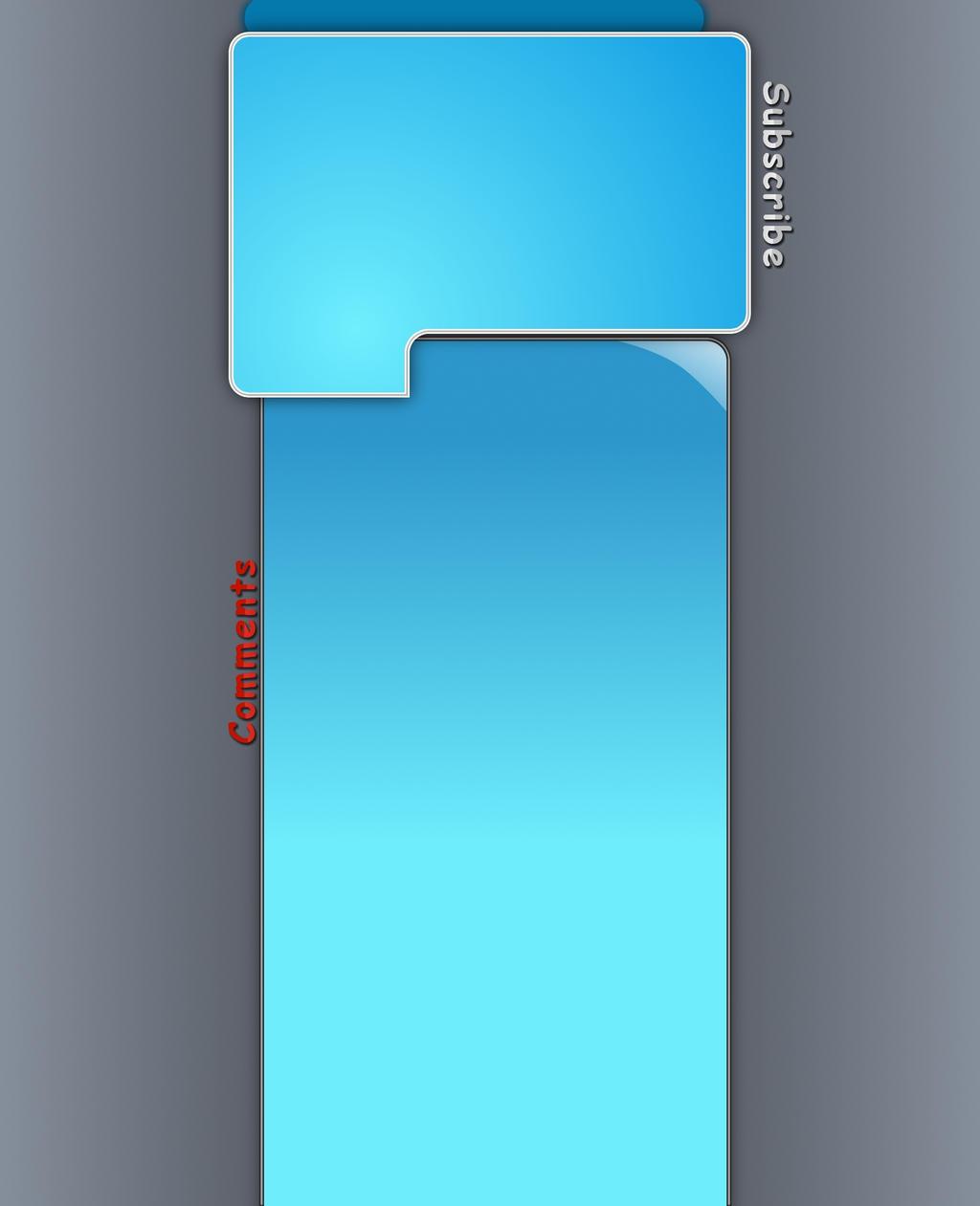Free Blue Youtube Design by JonasForTheArt
