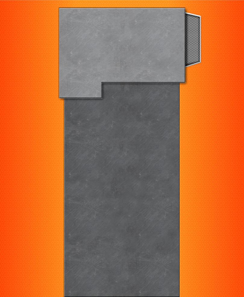 orange youtube Background by JonasForTheArt