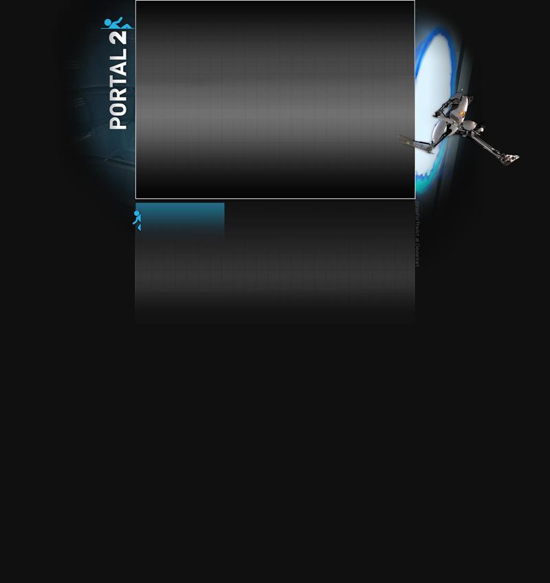Portal 2 Youtube Background by JonasForTheArt