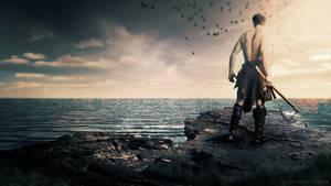 The Warrior by JonasForTheArt