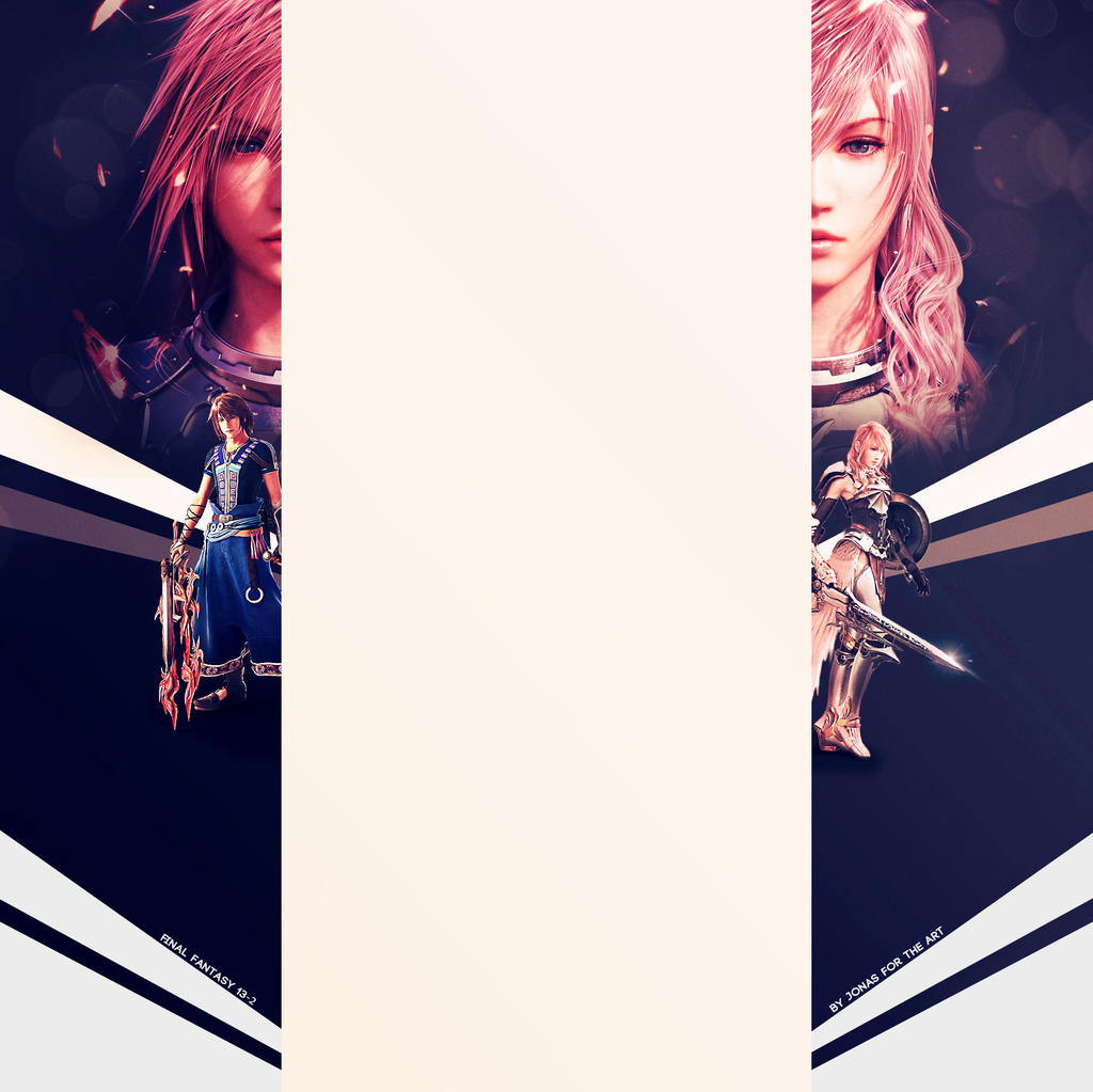 Final Fanatsy XIII-II Youtube Background [FREE] by JonasForTheArt