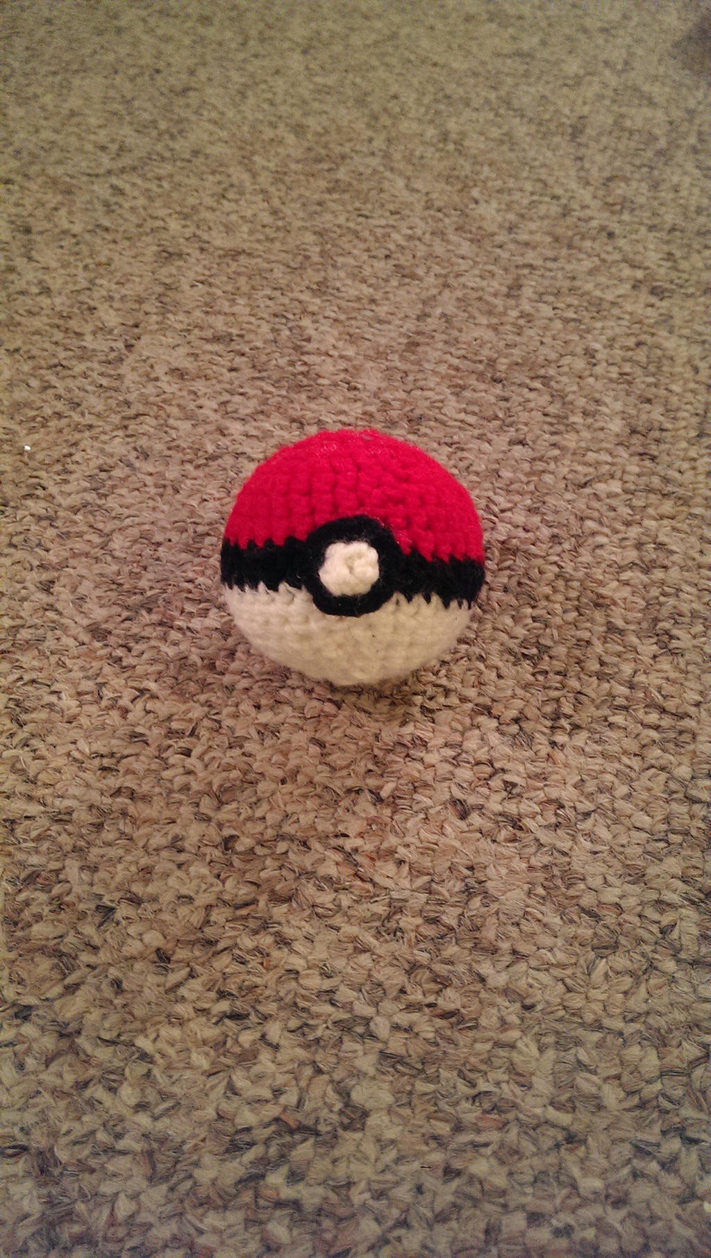 Pokeball Amigurumi - Complete by Wykked-As-Syn on DeviantArt