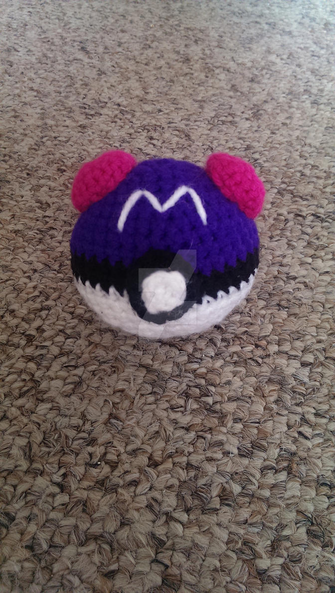 Amigurumi Master Ball : Master Ball Amigurumi by Wykked-As-Syn on DeviantArt