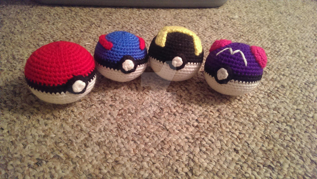 Pokeball Amigurumi - V3 by Wykked-As-Syn on DeviantArt