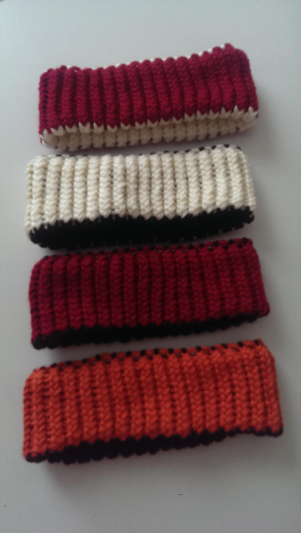 Knitting Journals Sale : For sale reverisble loom knit headbands by wykked as syn