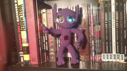 Sableye Softie Commission by Wykked-As-Syn