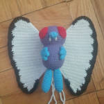 Butterfree Amigurumi WIP by Wykked-As-Syn