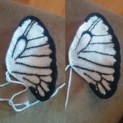 Butterfree wing progress