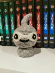 Normal Castform Amigurumi/Crochet Statue