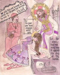 Mary Magdalene's Perfume Bottle by FireFiriel