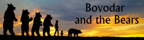 Bovodar and the Bears banner by FireFiriel
