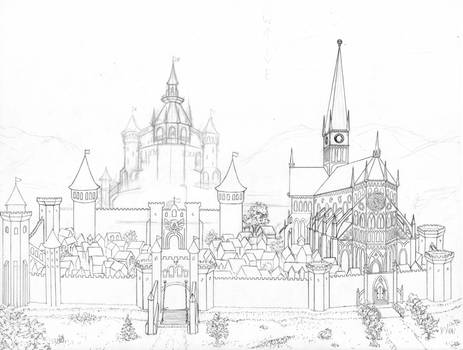 Hyrule Castle Town - unfinished