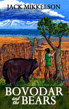 Bovodar and the Bears second edition cover