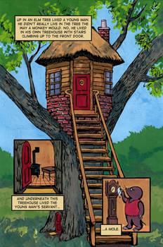 Bovodar and the Bears comic page 1