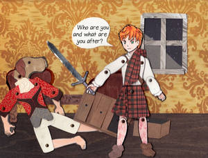 PDV panel - Book One, Part II, Chapter 7, page 1