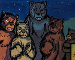 Bovodar and the Bears panel - Episode 7