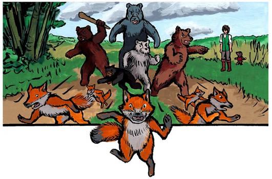 Bovodar and the Bears panel - Episode 9