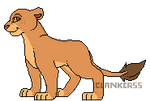 Pixel Lioness - Amani by Clankerss